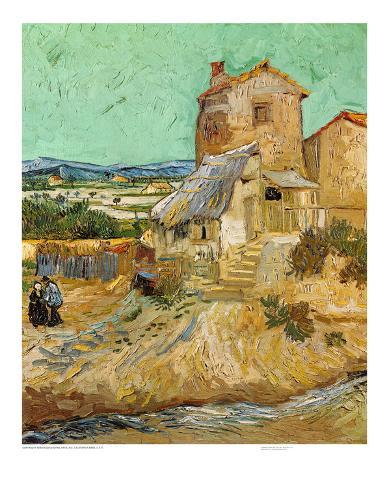 The Old Mill, c.1888 Art Print