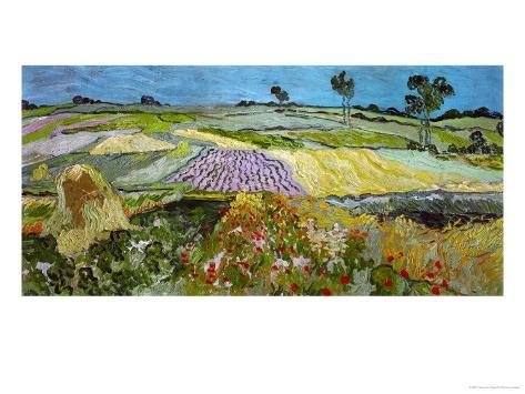 The Plain at Auvers, c.1890 Giclee Print