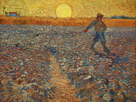 The Sower, c.1888 Giclee Print