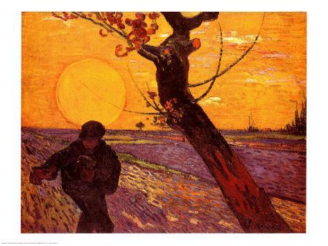 The Sower, c.1888 Art Print