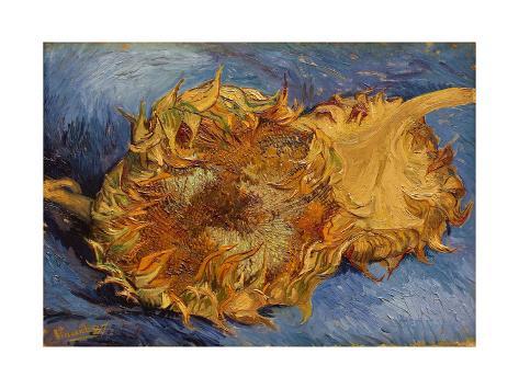 The Sunflowers, 1887 Lámina giclée