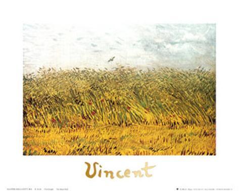 The Wheat Field Art Print