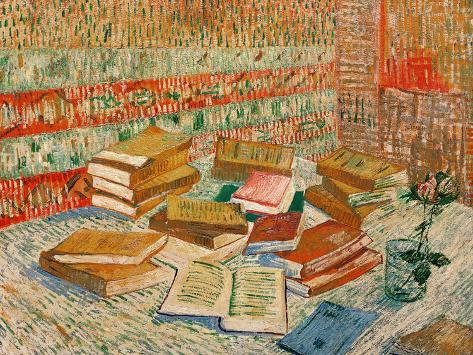 The Yellow Books, c.1887 Giclee Print
