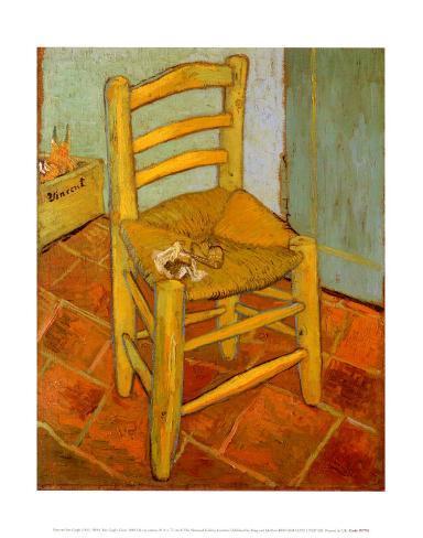 Van Gogh's Chair, c.1888 Art Print