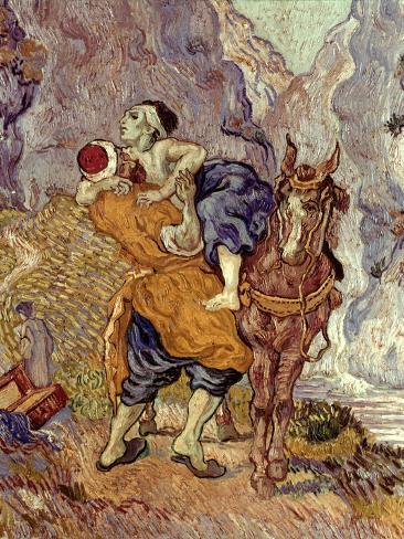 Van Gogh: Samaritan, 1890 Giclee Print