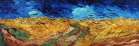 Van Gogh: Wheatfield, 1890 Giclee Print