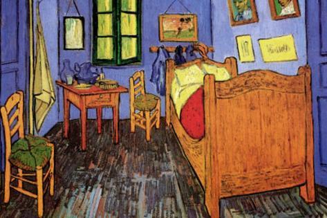Vincent Van Gogh (Vincent's Bedroom) Art Poster Print Masterprint
