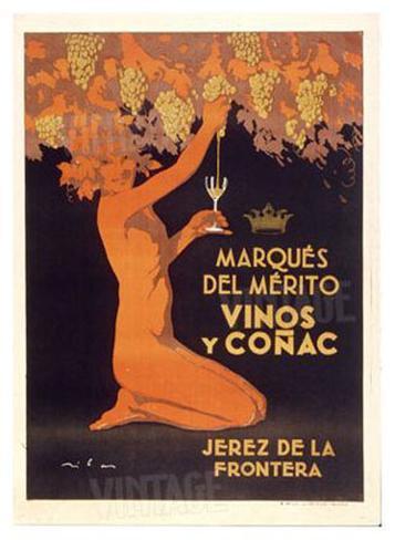 Vinos Jerez Giclee Print