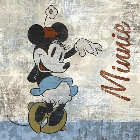 Vintage Minnie Art Print