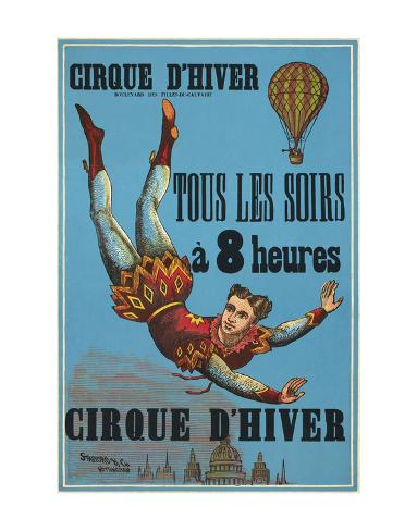 Cirque d'hiver Stampa artistica