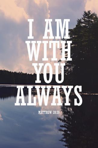 With You Always Lámina giclée