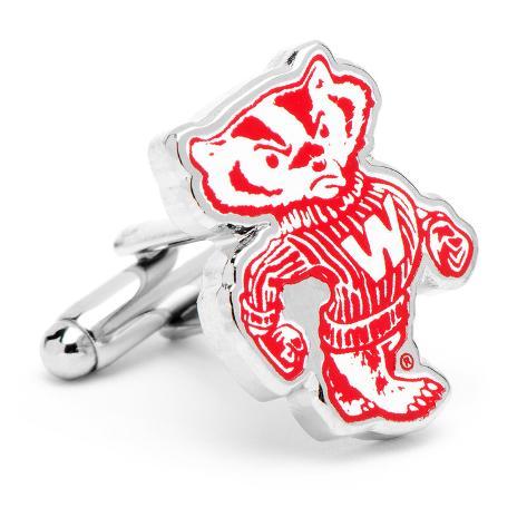 Vintage University of Wisconsin Badgers Cufflinks Novelty