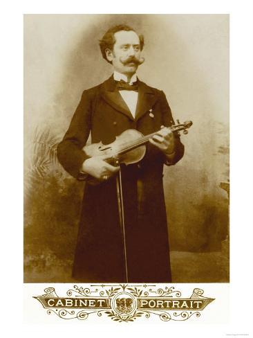 Violinist Taidevedos