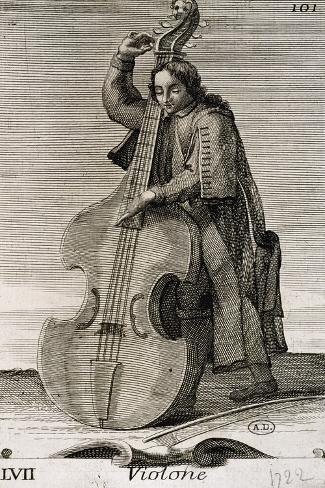 Violone, 1722, Italy Giclee Print