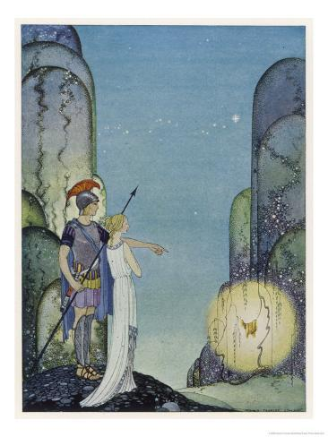 Medea Daughter of Aeetes King of Colchis Giclee Print