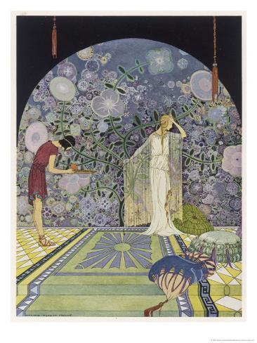 Persephone Down Under Giclee Print