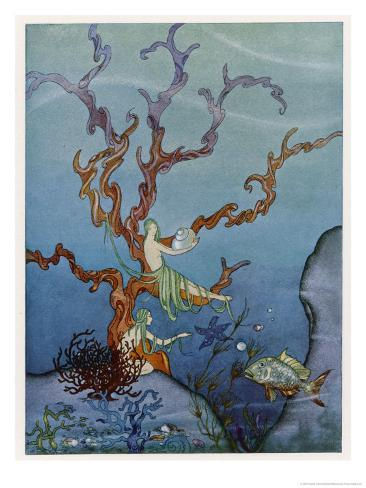 Sea-Nymphs Giclee Print