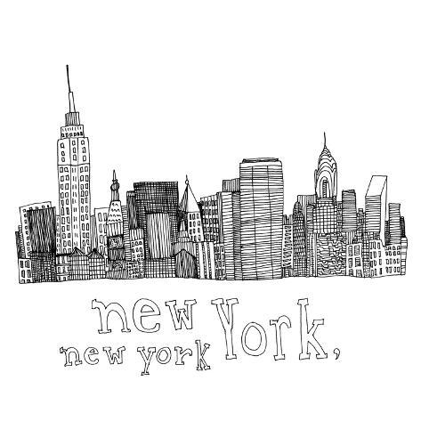 New York, NY Giclee Print