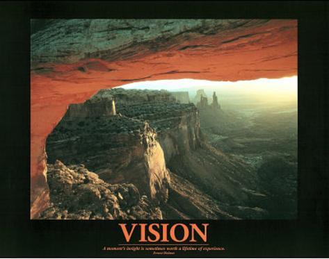 Vision (Canyon) Mini Poster