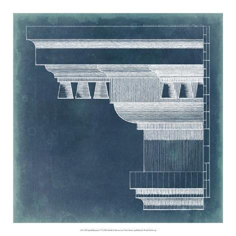 Capital blueprint v giclee print by vision studio allposters capital blueprint v malvernweather Images