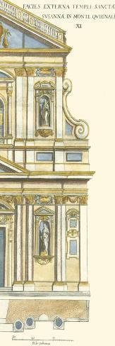 Classical Facade IV Art Print