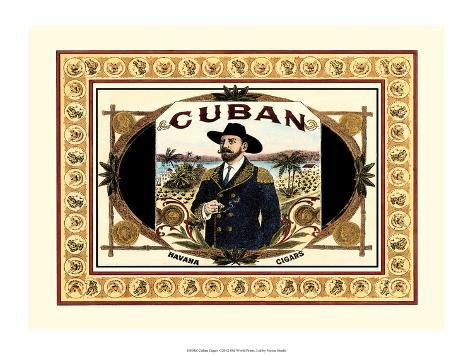 Cuban Cigars Art Print