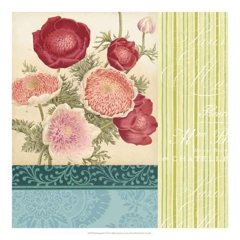 Floral Montage I Giclee Print