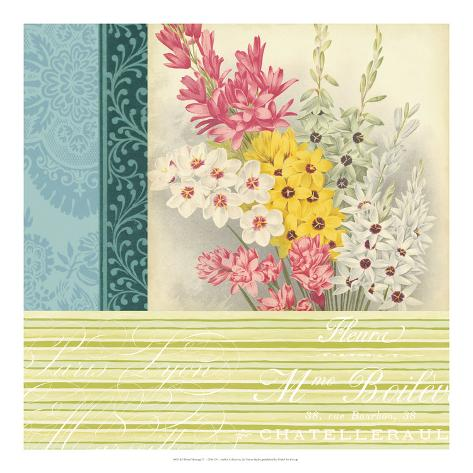 Floral Montage II Giclee Print