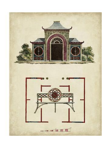 Garden Follies IV Art Print