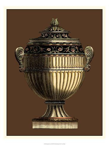 Imperial Urns I Art Print
