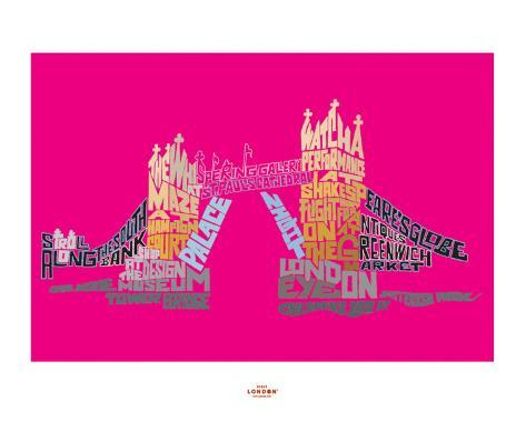 Visit London (Tower Bridge) Art Print