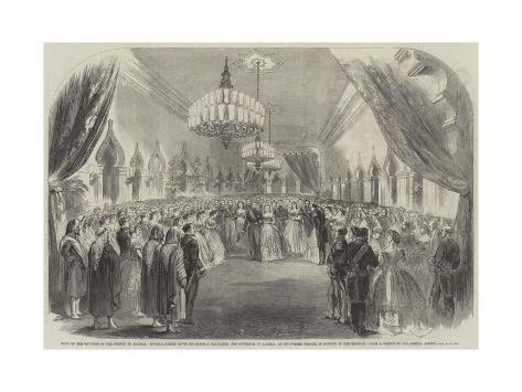 Visit of the Emperor of the French to Algeria Giclee Print
