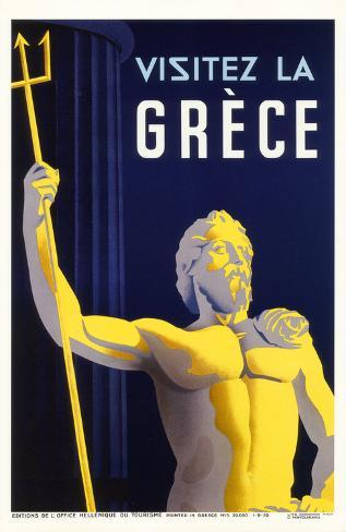 Visitez la Greece Masterprint