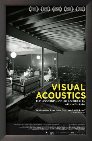 Visual Acoustics Impressão artística emoldurada