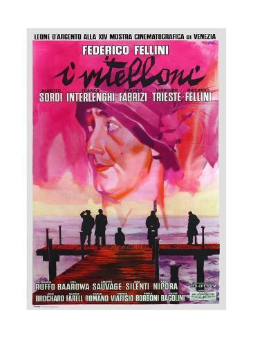 Vitelloni, 1953 (I Vitelloni) Giclee Print