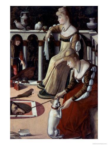 Two Venetian Ladies Giclee Print