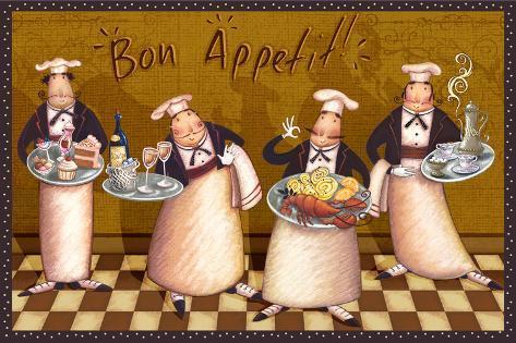 Hyvää ruokahalua, ranskaksi Taidevedos