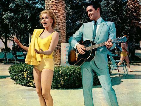 Viva Las Vegas, Ann-Margret, Elvis Presley, 1964 Photo