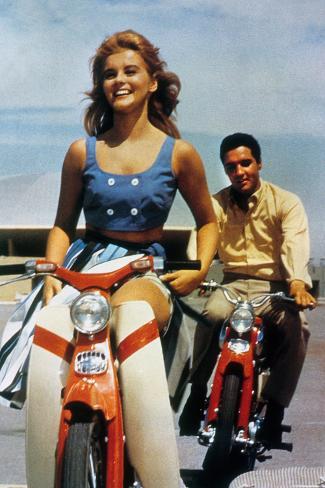 Viva Las Vegas by George Sidney with Ann Margaret and Elvis Presley, 1964 Photo