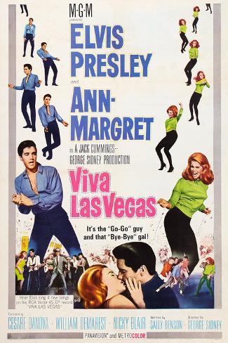 Viva Las Vegas, Elvis Presley, Ann-Margret, 1964 Art Print