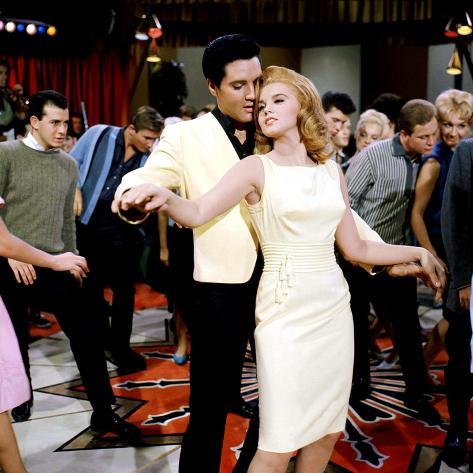 Viva Las Vegas, Elvis Presley, Ann-Margret, 1964 Photo