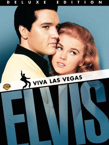 Viva Las Vegas, UK Movie Poster, 1964 Art Print