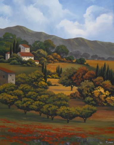 Italian Countryside I Art Print