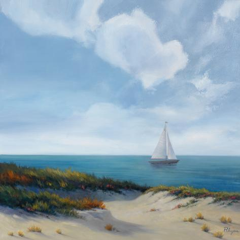 Shoreline Marshes II Art Print