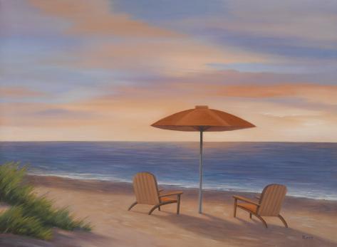 Summer on The Sand Art Print
