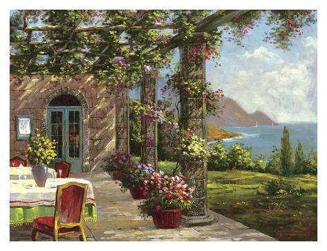 Amalfi Coast I Art Print