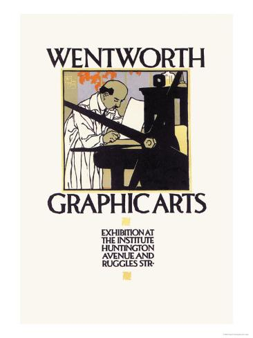 Wentworth Graphics Arts Art Print