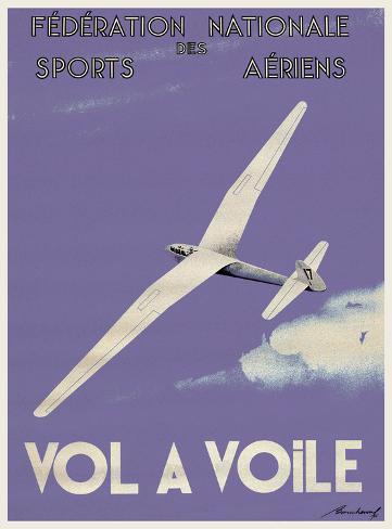 Vol A Voile Art Print