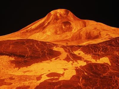 Volcano On Venus Photographic Print At Allposters Com