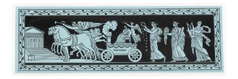 Voltaire Belt Design Impressão giclée